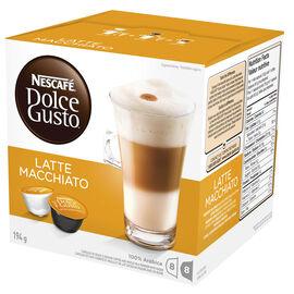 Nescafe Dolce Gusto Two Part Coffee Pods - Latte Macchiato - 8's