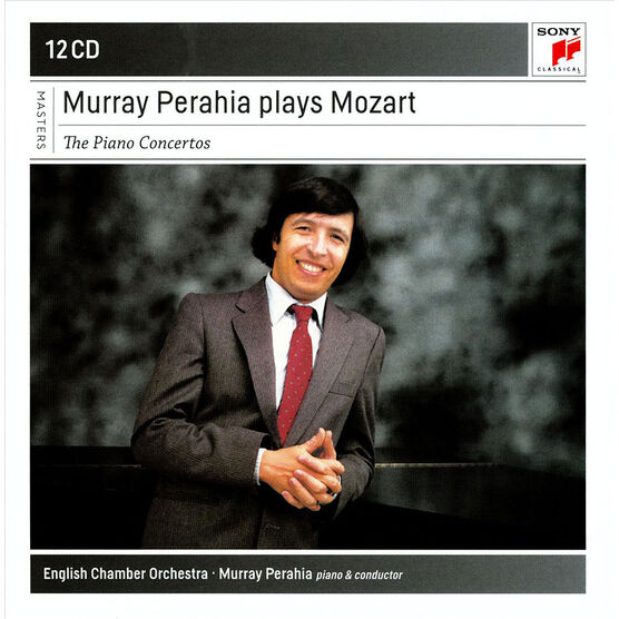 Murray Perahia - Murray Perahia plays Mozart: The Piano Concertos - 12 CD