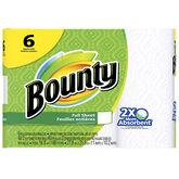Bounty Paper Towels Full Sheets - 6's