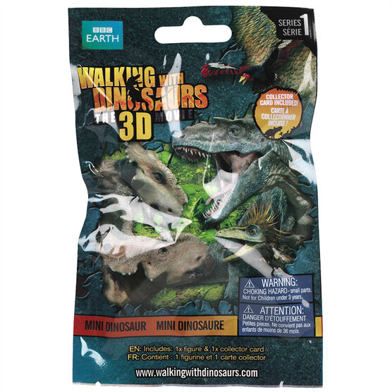 Walking With Dinosaurs Figurines - Series 1 - Mini Dinosaurs