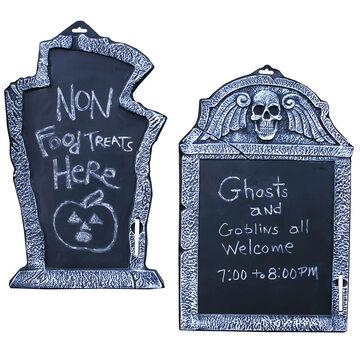 Halloween Tombstone Chalkboard - 22 inches - Assorted