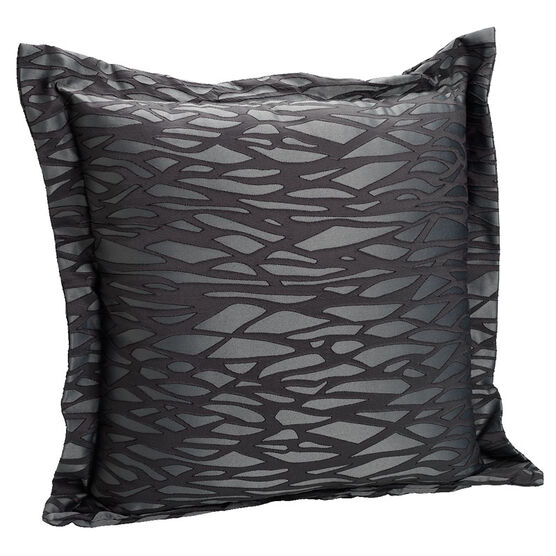 London Drugs Printed Large Cushion - Black - 60 x 60cm