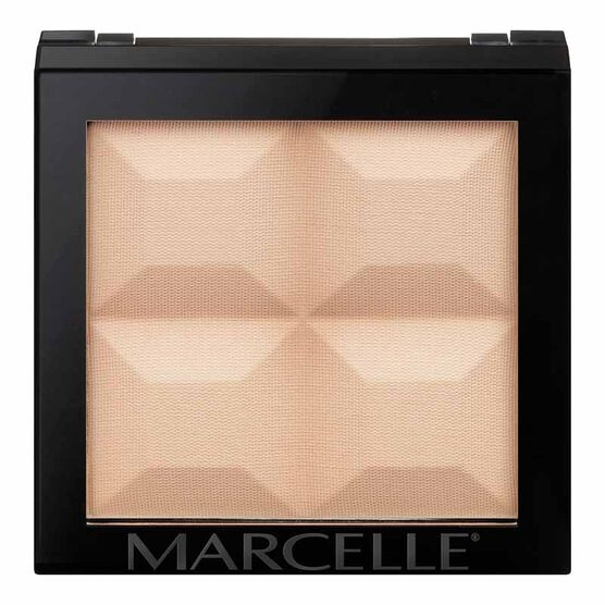 Marcelle Monochromatic Pressed Powder - Light