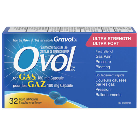 Ovol Softgels 180mg - 32's