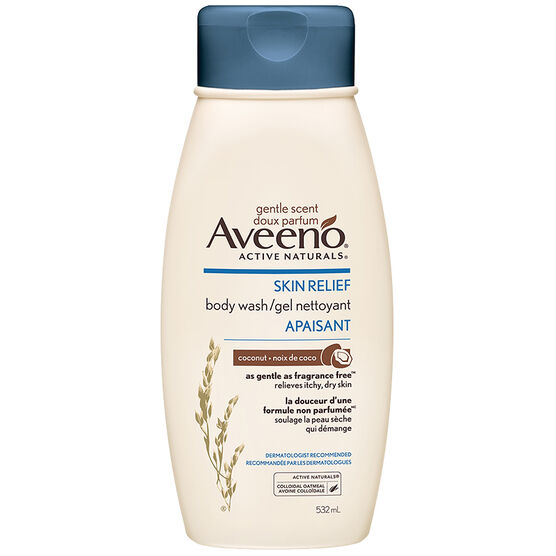 Aveeno Active Naturals Skin Relief Body Wash - Coconut - 532ml