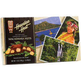 Hawaiian Host Chocolate Covered Macadamia Nuts - 198g