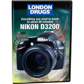 Jumpstart Guide for Nikon D3200 - DVD