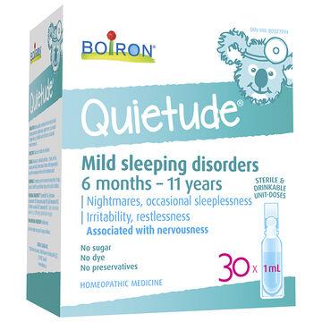 Boiron Quietude - 30's