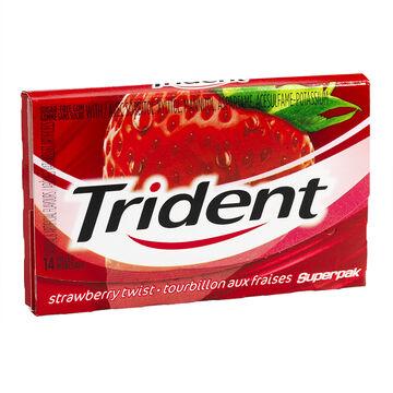 Trident Gum - Strawberry Twist - 14 pieces