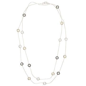 Nine West 42-inch Long Necklace - Tri-Tone