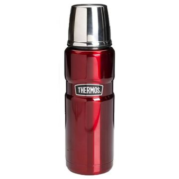 Thermos Stainless Steel Vacuum Insulated Beverage Bottle - 470ml - Cranberry
