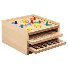 6 in 1 Game in Drawer Box
