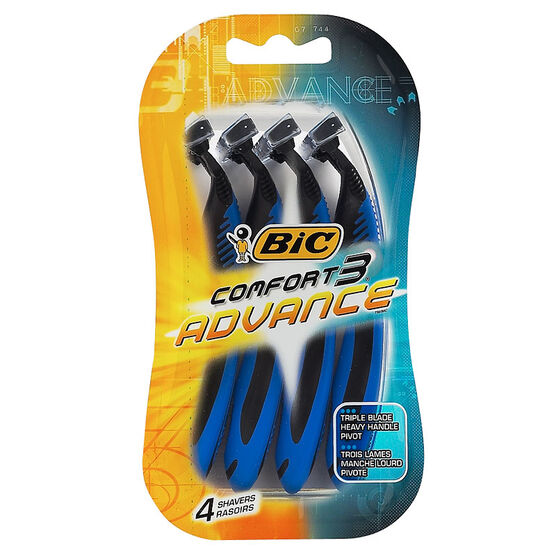 Bic Comfort 3 Advance - 4 pack