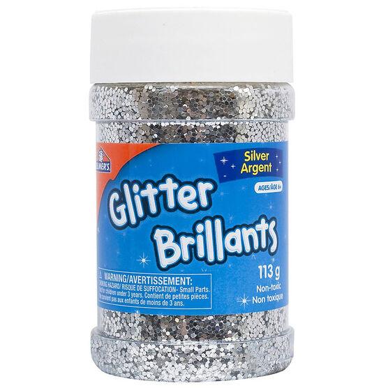 Elmers Glitter Shaker - Silver - 113g
