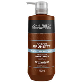 John Frieda Brilliant Brunette Multi-Tone Revealing Conditioner - 750ml