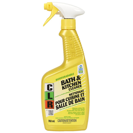 CLR Bathroom & Kitchen Cleaner - 760ml