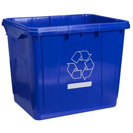 Scepter Recycling Bin - Blue - 27L