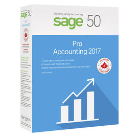 Sage 50 Pro Accounting 2017