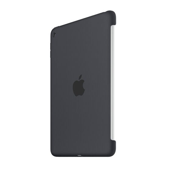Apple iPad Mini 4 Silicone Case - Charcoal Grey - MKLK2ZM/A