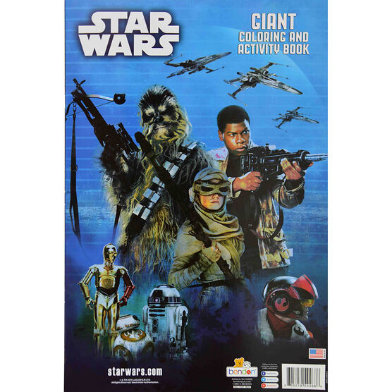 Star Wars Giant Colouring and Activity Book