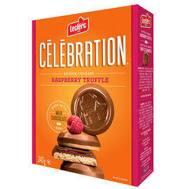 Leclerc Celebration Butter Cookies - Raspberry Truffle - 240g