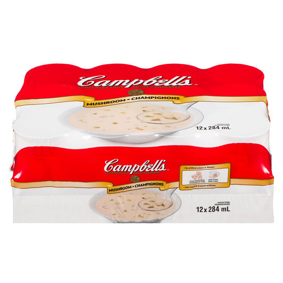 Campbell's Soup - Mushroom - 12 x 284ml