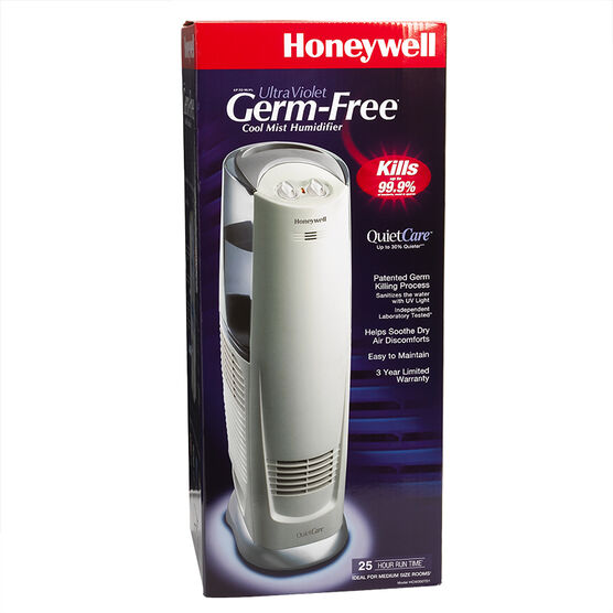 Honeywell QuietCare 3 gallon UV Cool Mist Tower Humidifier - HCM-300T