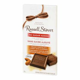 Russell Stover No Sugar Added Creamy Chocolaty Candy with Almonds - 82g