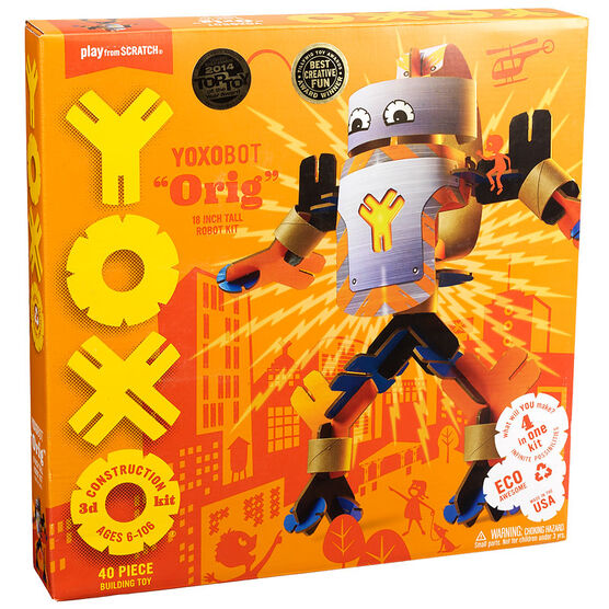 YOXO 3D Construction Kit - Yoxobot Oig