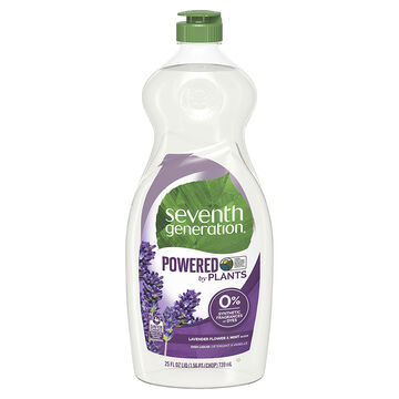 Seventh Generation Natural Dish Liquid - Lavender Floral and Mint - 739ml