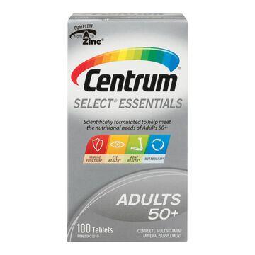 Centrum Select 50 Plus Multivitamin - 100's