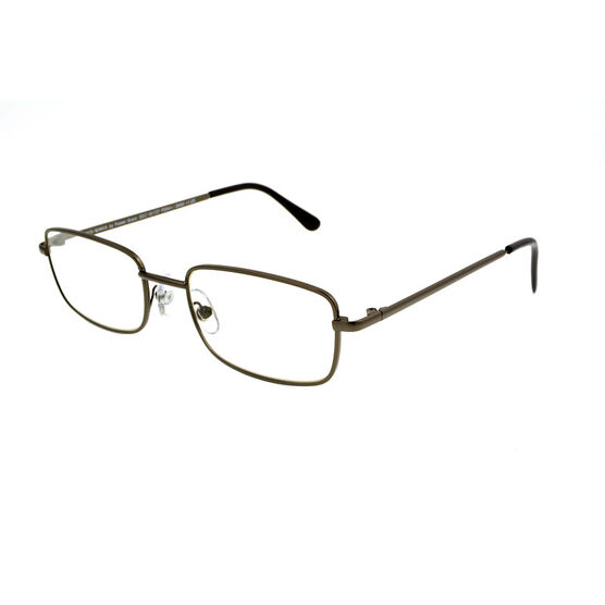 Foster Grant Jacob Reading Glasses - Gunmetal - 3.25