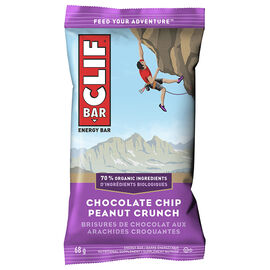 Clif Bar - Chocolate Chip Peanut Crunch - 68g