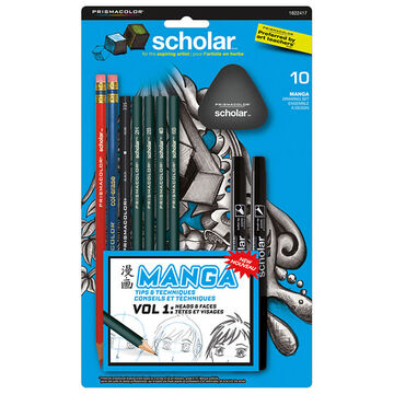 Prismacolor Colouring Pencils - Manga - 10's