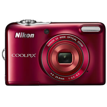 Nikon Coolpix L32 - Red - 32428