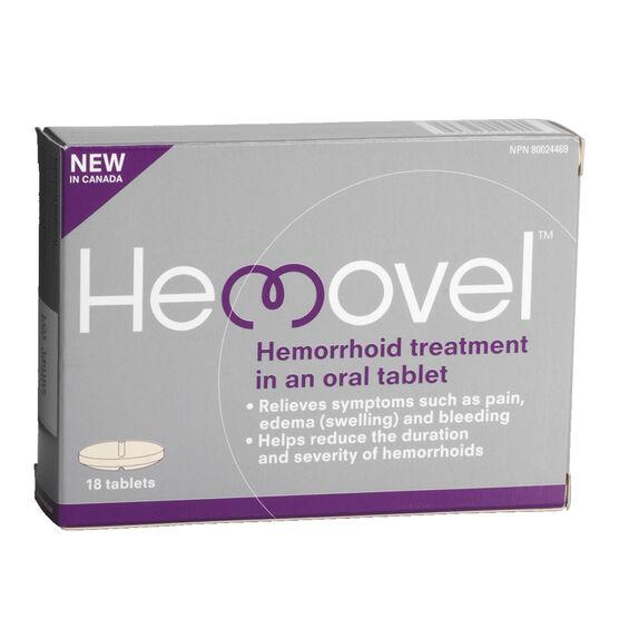 Hemovel Hemorrhoid Treatment - 18's