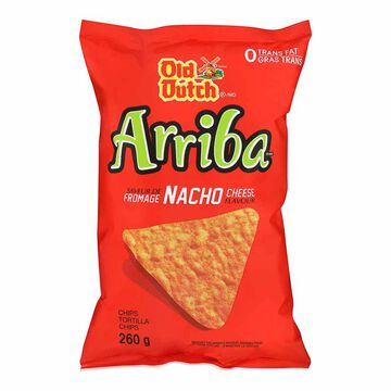 Old Dutch Arriba Tortilla Chips - Nacho Cheese - 260g