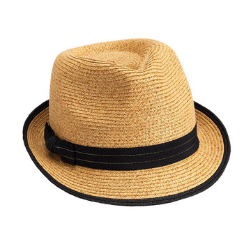 Bellezza Fedora Hat - Natural and Black