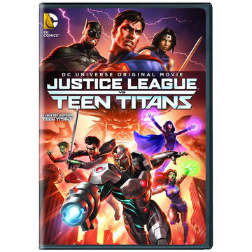 Justice League vs. Teen Titans - DVD