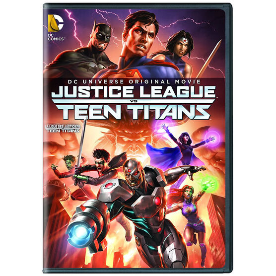 Justice League vs. Teen Titans - DVD