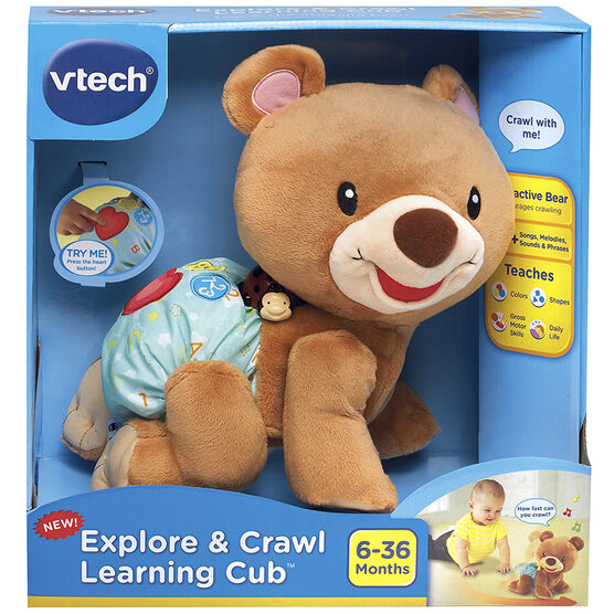 VTech Explore & Crawl Learning Cub
