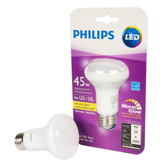 Philips R20 Light Bulb - Warm - 6w/45w
