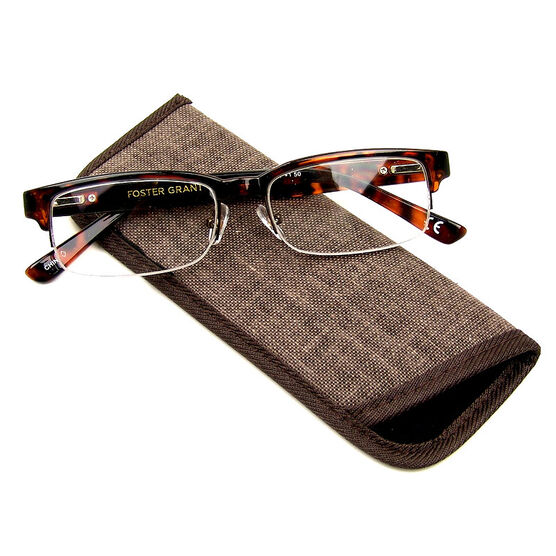 Foster Grant Bentley Reading Glasses - Tortoiseshell - 3.25