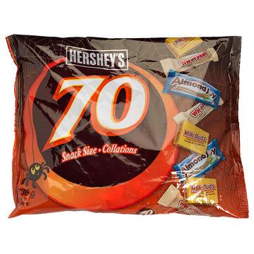 Hershey Chocolate Assortment - 70's/736g