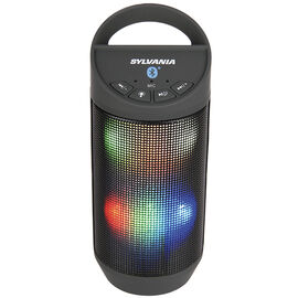 Sylvania Bluetooth Neon Light Speaker - Black - SP606BT