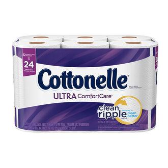 Cottonelle Ultra Bathroom Tissue - 12's/ Double Rolls