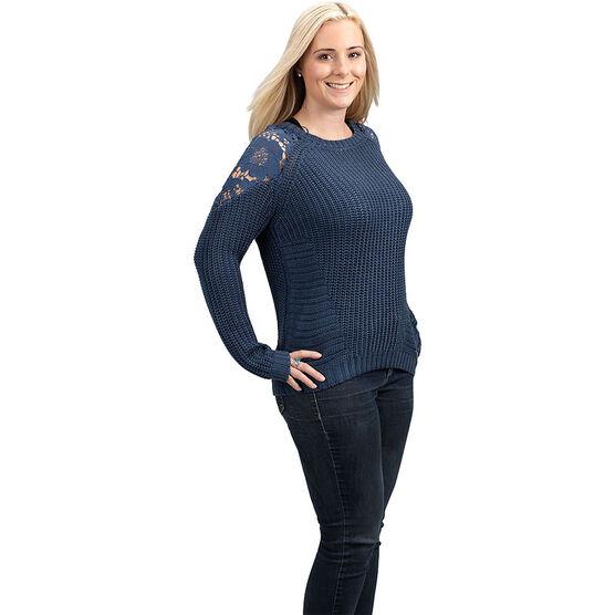 Amara Reya Ladies Crew Neck Sweater - Assorted