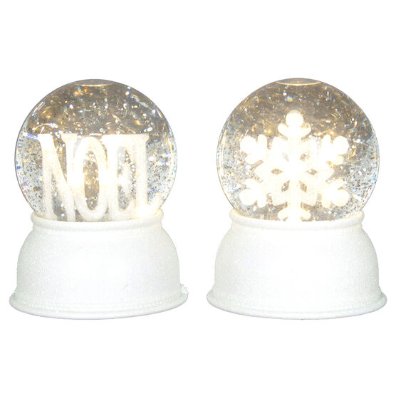 Musical LED Snowglobe - 5.5in -X96433 - Assorted