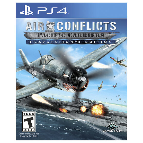 PS4 Air Conflicts: Pacific Carriers