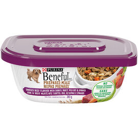 Purina Beneful Dog Food - Simmer Beef - 283g